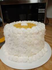 Coconut Pineapple Layer Cake_image