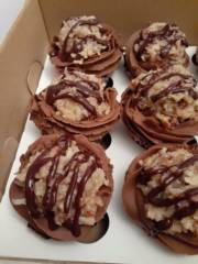 German Chocolate Kupkakes_image