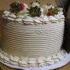 Strawberry Whipped Creme Layer Cake